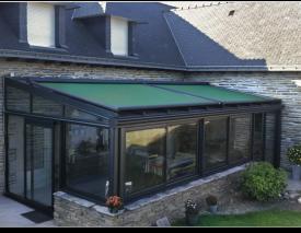Toldos para cerramientos veranda toldos alcobendas for Cerramientos de jardin